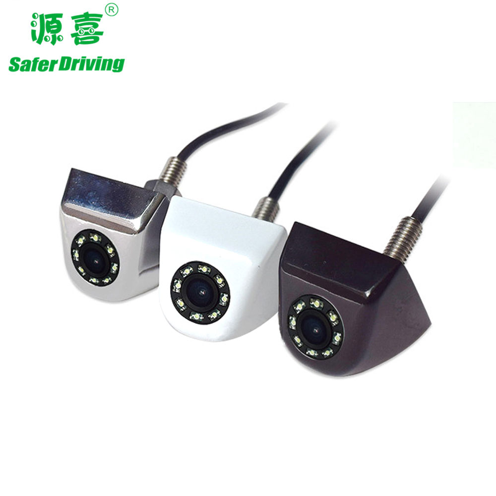 The new 8-lamp infrared CCD car rearview camera with Korean rearview HD camera with night vision camera  XY-1676A