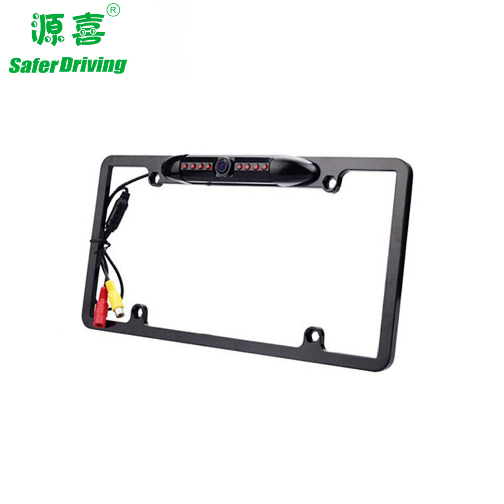 12V waterproof  License Plate Frame  car camera  XY-1651