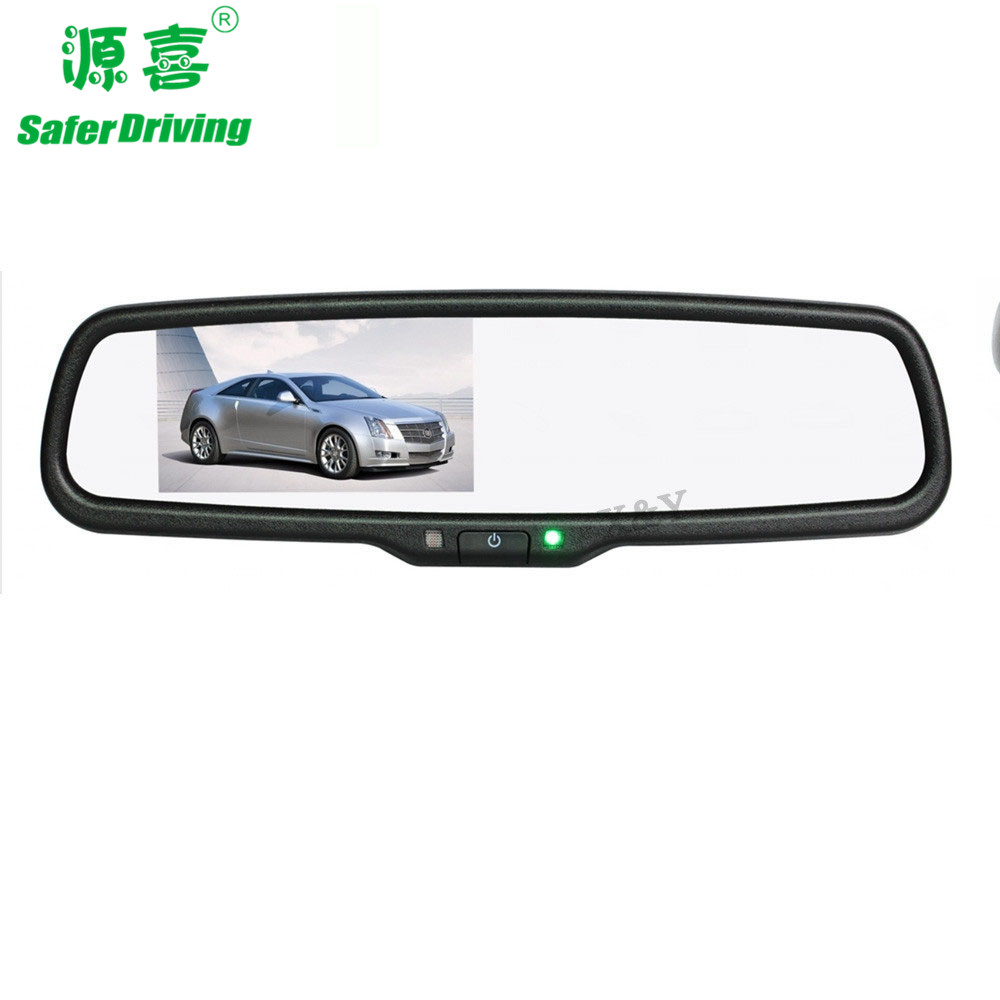 4.3 inch car rearview mirror monitor XY-2503i