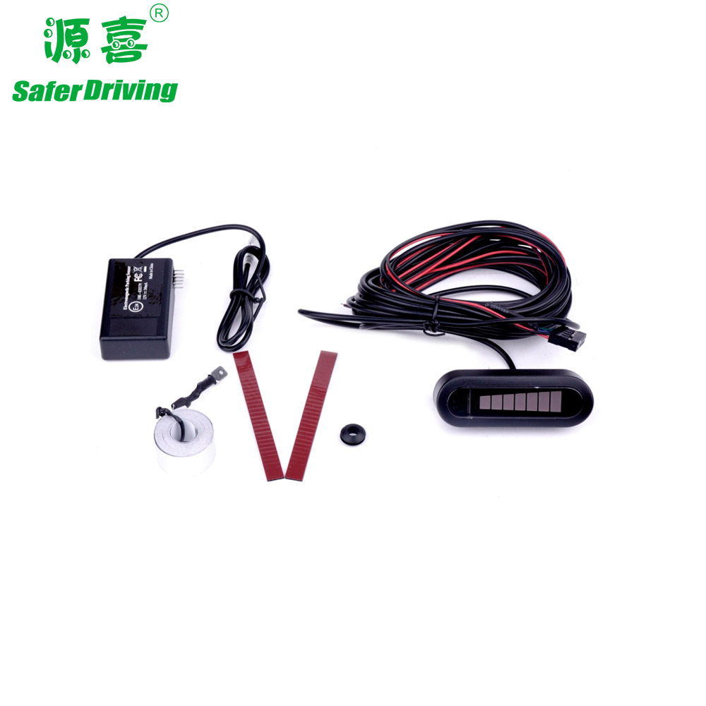 Electromagnetic car sticker type Parking sensor with LED display XY-302